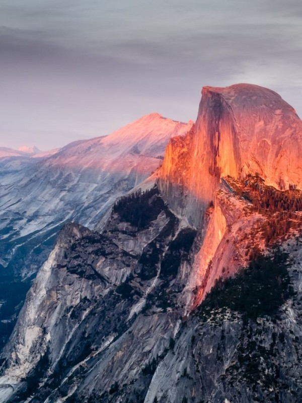 The magic unfolds in Yosemite Valley