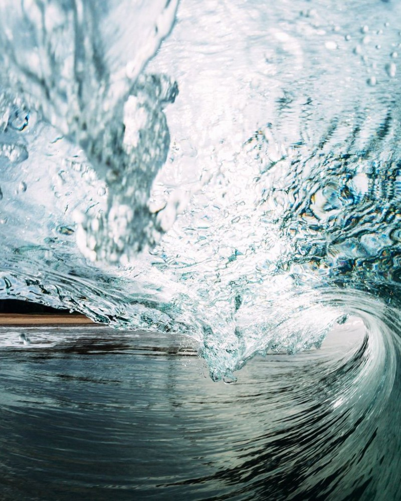 A wave from inside